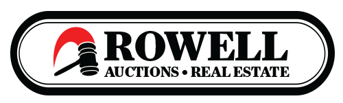 Rowell Auctions, Inc. Logo